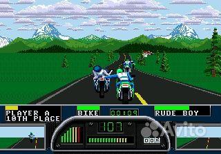 Скачать бесплатно игру Road Rash 3 для Sega Mega Drive вы сможете на нашем