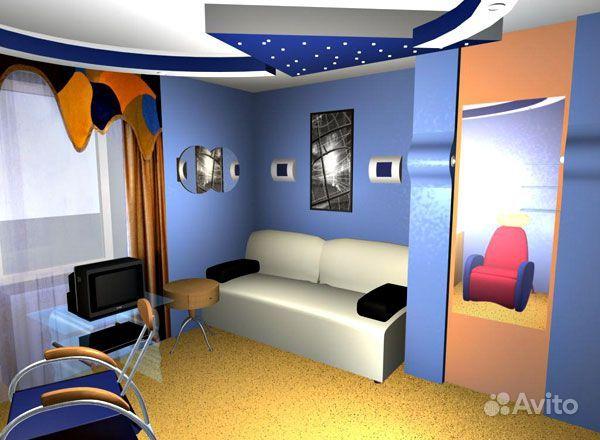 Компьютерная дизайн квартиры
