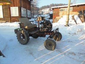 Авито авто трактор самодельный 86