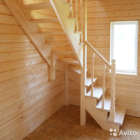 Изготовить деревянную лестницу своими руками видео