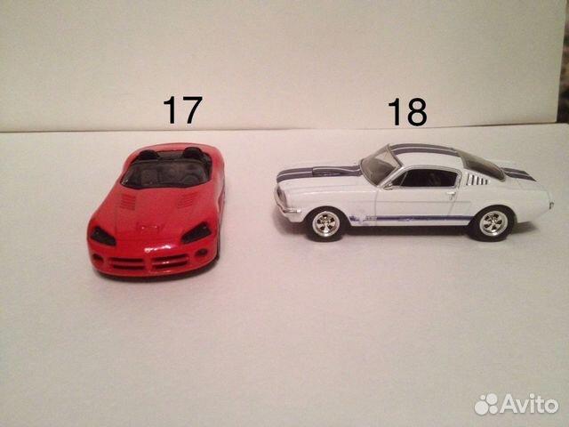 игрушечных машин