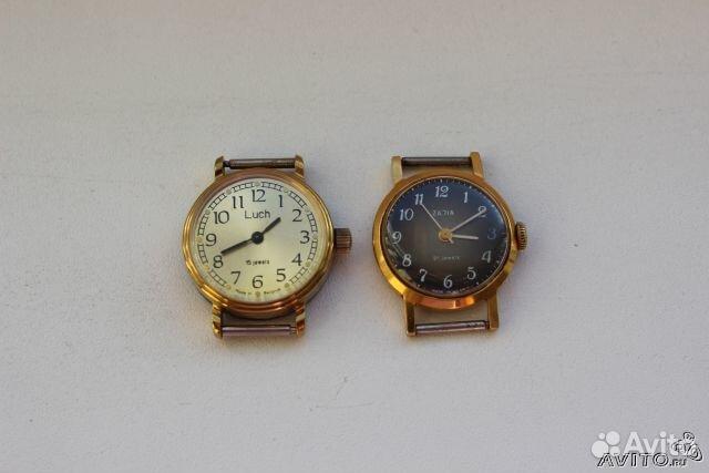золотые женские часы чайка ссср купить