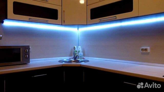 Как сделать подсветку на гарнитуре