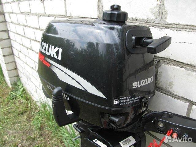 купить лодочный мотор suzuki 6 сильный четырехтактный