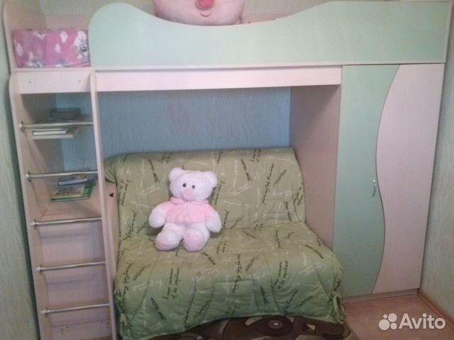 Детская Двухъярусная Кровать С Диваном Московская Область