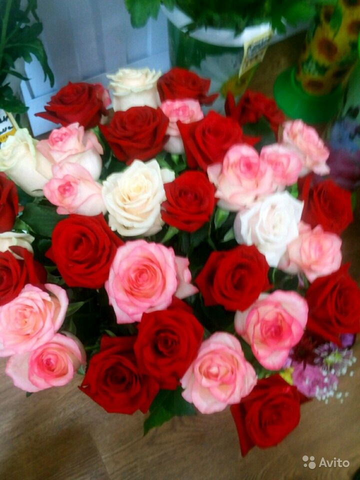 Свежие живые цветы купить на Зозу.ру - фотография № 10