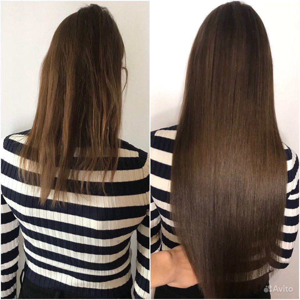 Наращивание волос купить на Вуёк.ру - фотография № 3