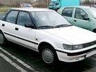 Тойота Королла 1989г 1.6 по запчастям