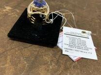 Кольцо сапфиры и бриллианты