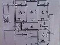 3-к квартира, 105.9 м², 11/12 эт.