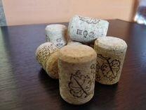 Пробка винная Агломерированная корковая 10шт