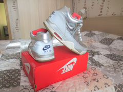 Nike flight squad QS (Metallic Silver) размер 45