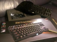 Клавиатура Rog Claymore Core black