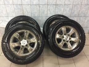 Комплект зимних колес для Land Cruiser Prado 120