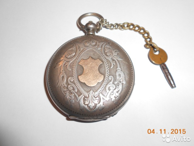 Старинные карманные часы tobias (серебро) купить в Республике HA93