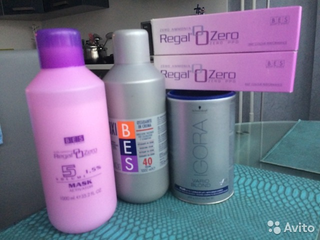 Купить в москве краску для волос bes