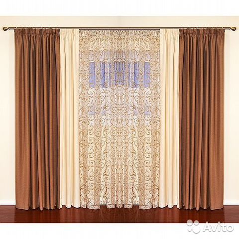 Pinch pleat sheer curtains