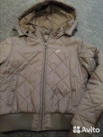 1a6bc7c5 Демисезонная куртка Nike купить в Московской области на Avito ...
