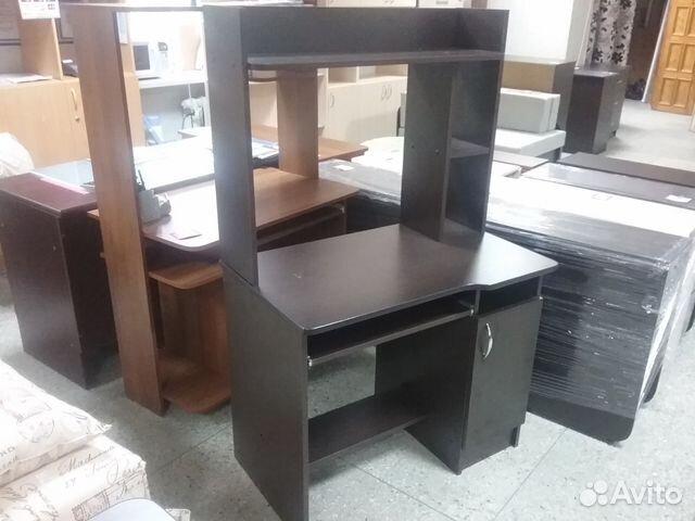 стол письменный с полками новый