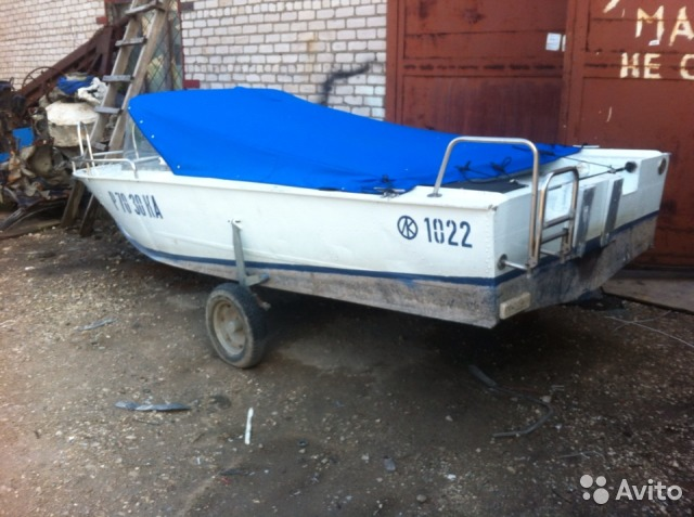 лодка прогресс 4 в самарской области