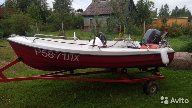куплю лодку с мотором цена в спб