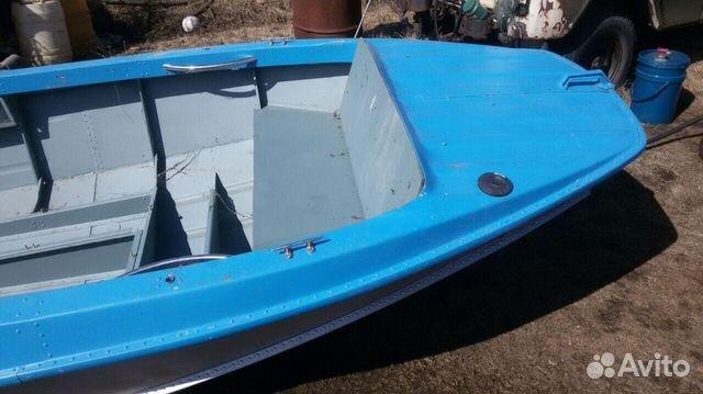 вмятина на дюралевой лодке