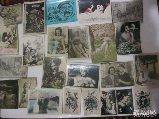 Хочу продать старинные открытки, записками слендермена