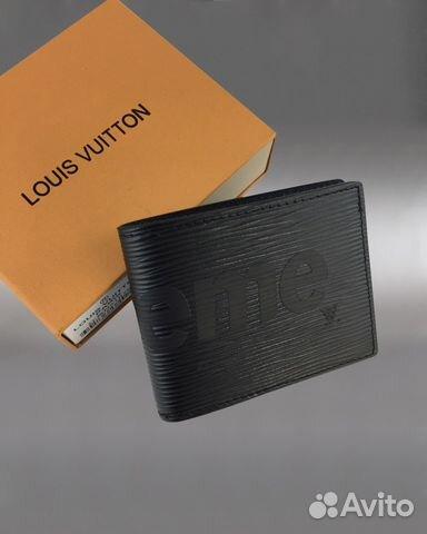 Кошелек бумажник Louis Vuitton Supreme арт.1704 купить в Москве на ... 096cc1d6de7