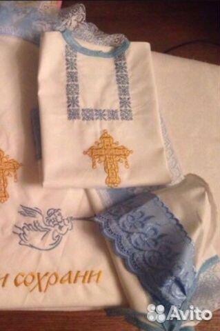 50d3b8ccd5b37 Вышитые вещи для детей и взрослых купить в Москве на Avito ...