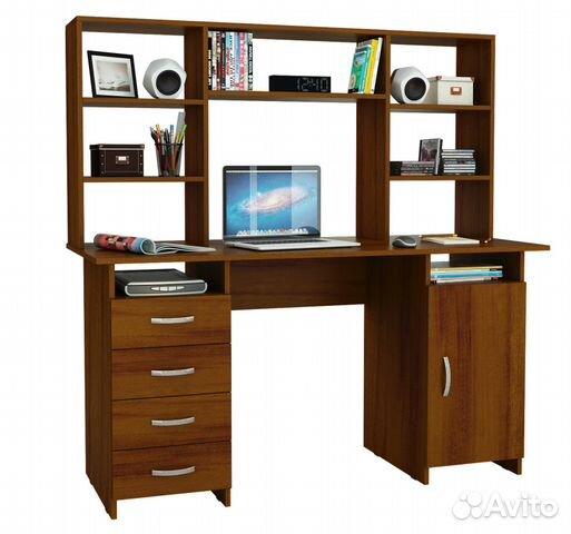 Письменный стол в цвете орех   Festima.Ru - Мониторинг объявлений 507f3c0109f