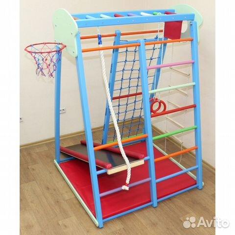 Напольный детский спортивный комплекс Баскет-6 89020067791 купить 4