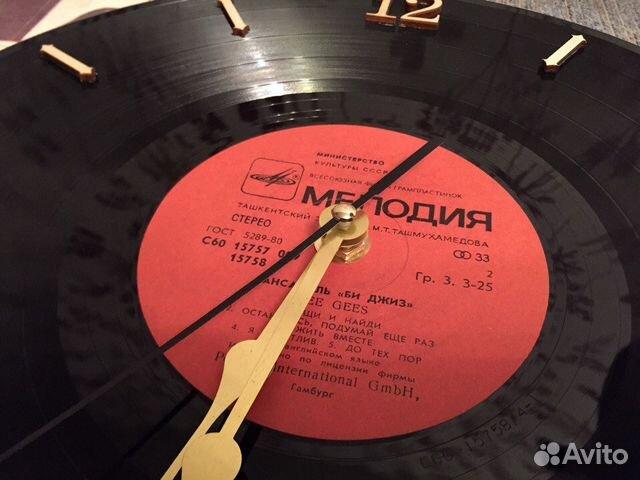 Часы настенные виниловая пластинка 89526551273 купить 4
