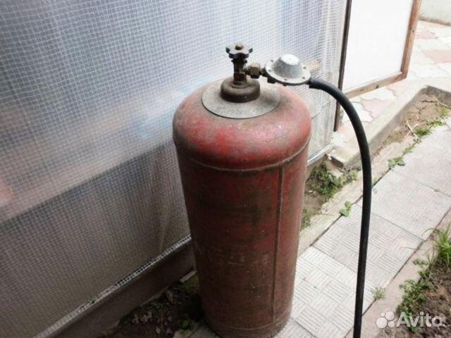 Газовый баллон (пропан)