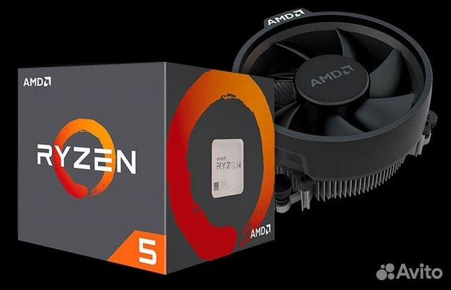 Процессор AMD Ryzen 5 2600X box (новый)