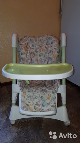 стульчик для кормления Happy Baby Kevin V2 купить в тверской
