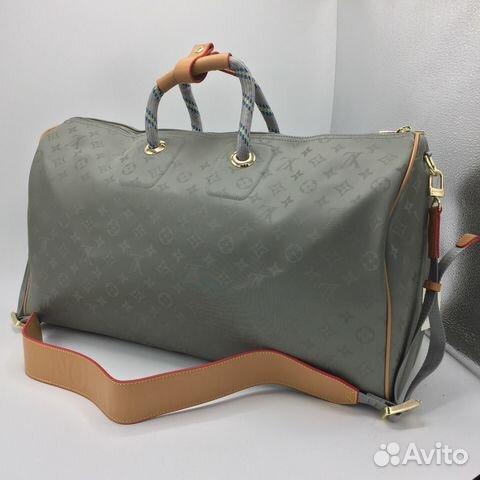 cff0bcc03e96 Дорожная сумка Louis Vuitton Keepall Titanium | Festima.Ru ...