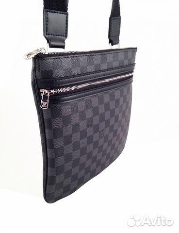 144eb9472bf4 Мужская сумка через плечо Louis Vuitton арт.045-1 купить в Москве на ...