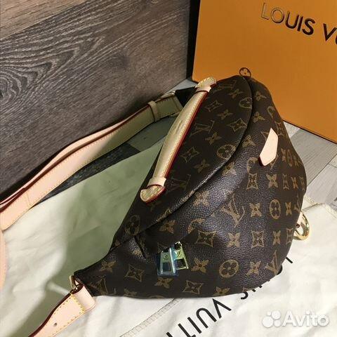 1c20cd6fcf0d Сумка Louis Vuitton коричневая на пояс | Festima.Ru - Мониторинг ...