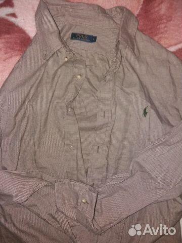 619dc72d15ab Рубашка Ralph Lauren купить в Свердловской области на Avito ...