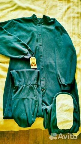 Комбинезон пижама из флиса на высокий рост 2b93c59aa7ec1