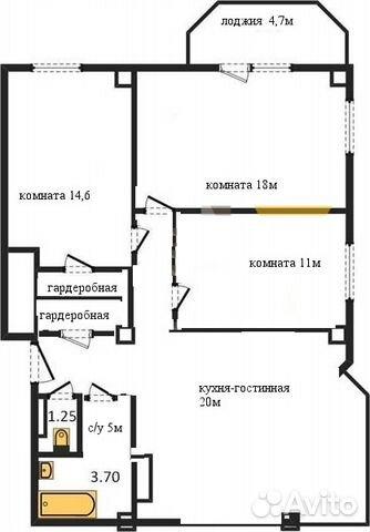 Продается четырехкомнатная квартира за 3 390 000 рублей. Батайск, Ростовская область, Огородная улица, 84к1.