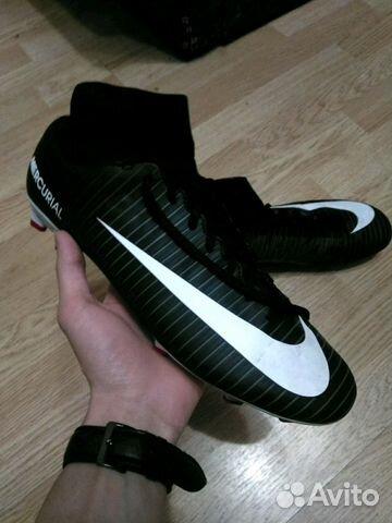 Бутсы футбольные Nike mercurial купить в Санкт-Петербурге на Avito ... b191b80c925
