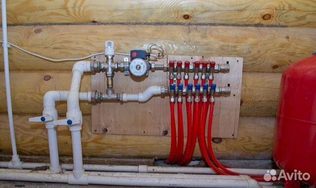 Электрика отопление водоснабжение канализация