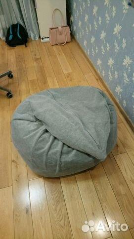 кресло мешок икеа серый купить в москве на Avito объявления на