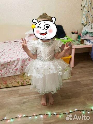 Платье Снежинка 89086408647 купить 1