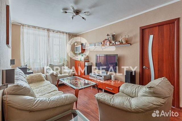Продается трехкомнатная квартира за 8 600 000 рублей. Москва, улица Малышева, 18к1.