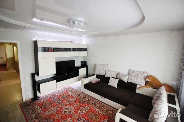 Продается четырехкомнатная квартира за 3 500 000 рублей. г Барнаул, ул Энтузиастов, д 34.