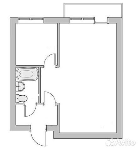 Продается однокомнатная квартира за 2 100 000 рублей. г Тула, ул Сойфера, д 1.