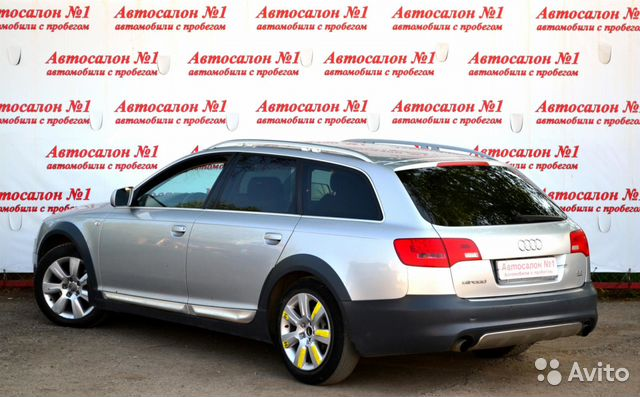 Купить Audi A6 пробег 126 000.00 км 2006 год выпуска