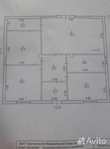 Дом 105 м² на участке 9 сот. 89610837369 купить 2